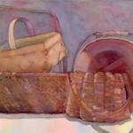 Baskets II Watercolor Painting