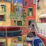 Canal in Venice Watercolor