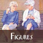 Figures Watercolor Paintings