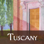 Tuscany Watercolor Gallery