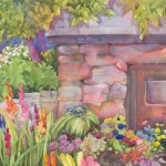 Smokehouse Watercolor Painting