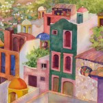 San Miguel de Allende Watercolor Painting